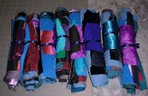 Amish colors Crazy Quilt Fabric bundles by Crazy Rebecca